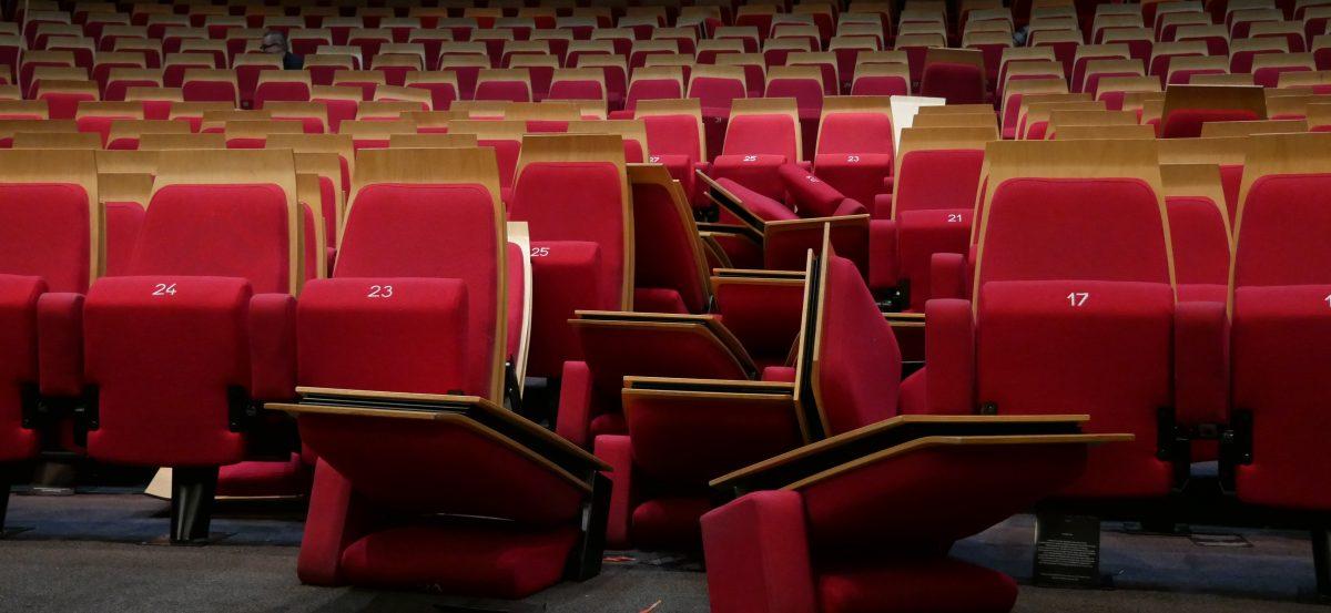 Zaantheater zonder stoelen